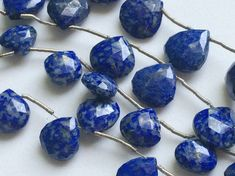 Lapis Lazuli Beads Blue Lapis Lazuli Faceted by gemsforjewels