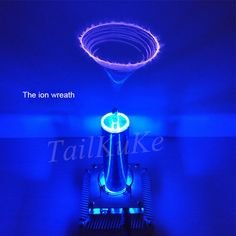Tesla Coil Put Music Ion Windmill Wreath Spaced Lights Wireless Transm – Ezbuypay Air Conditioner Parts, Medium Waves, Safety Awareness, Tesla Coil, Light Touch, Nikola Tesla, We Are Family, Cool Inventions, High Voltage