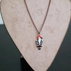 Woodpecker Necklace For Bird Lovers