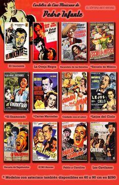 Carteles De Cine Mexicano De Pedro Infante - Sav7 Cin7 - $ 50.00 en MercadoLibre
