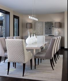 lovely neutral diningroom
