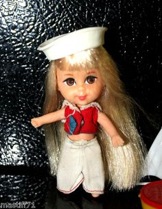 RARE Little Vtg Liddle Kiddle Lola | eBay hm she's rare?  got her x 2