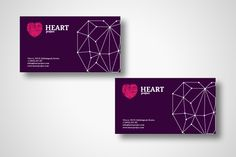 Heart project // Corporate Id by Andrey Severin , via Behance