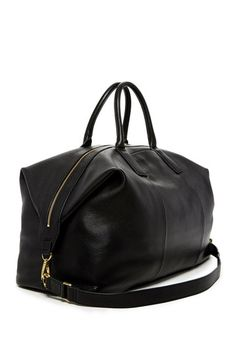 Image of Fossil Preston Leather Weekend Bag