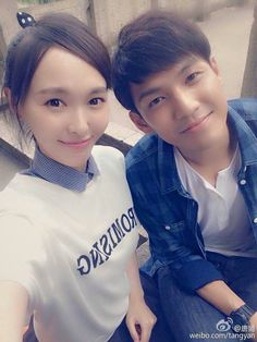 Photo by xiao-mo-sheng-and-xiao-yi-chen-from-tang-tangs Tumblr Website, Tiffany Tang, Wallace Chung, Cool Tumblr, Celebrity Faces, Chinese Actress, Celebs, Celebrities, Chen
