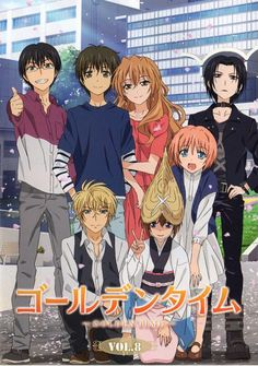 Golden time. It was a fabulous anime just beautiful everyone should watch it