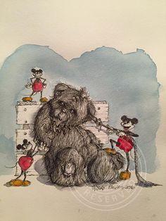 9/366 #teddy #mickemouse