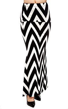 #Black white Long Gorgeous Maxi #Skirt #Dress