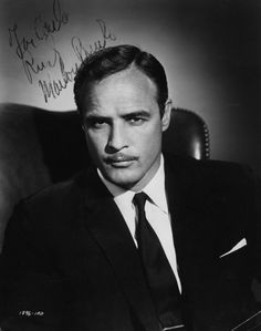 "Marlon Brando for ""The Ugly American"" (1963) signed photo..."