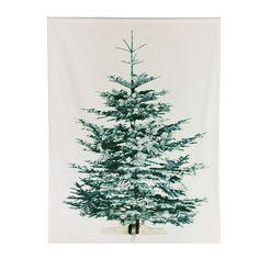 Décoration murale, motif sapin de Noël IKEA. Le petit plus, il s'éclaire dans le noir !  Sympa et peu volumineux, idéal pour les petits logements.   LIAMARIA Prix conseillé : 12,99 €
