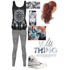 A fashion look from November 2014 featuring American Apparel tops, Blue Inc Woman leggings and Converse sneakers. Leggings And Converse, Aztec Leggings, Converse Sneakers, American Apparel Tops, Fashion Looks, Women's Fashion, Lace Up Shoes, November, Inspirational