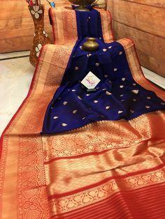 For online saree shopping in India or USA give us a call. Pink Saree Silk, Bridal Silk Saree, Organza Saree, Blue Saree, Fancy Sarees Party Wear, Set Saree, Pink Evening Dress, Saree Blouse Neck Designs
