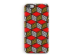 iPhone 6 Case, iPhone 6S Case, iPhone Case, Geometric iPhone 6 Case, Tough iPhone 6 Case, Pattern iPhone 6 Case, Patterned Phone Case