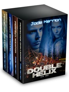 DOUBLE HELIX Collection cover, designed by Jason Alexander, Expert Subjects
