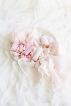 Blush styling bundle includes blush hues silk ribbons and blush cloth runner Pink Silk, Blush Pink, Silk Sheets, Marriage Decoration, Pink Table, Dyed Silk, Antique Roses, Newborn Photo Props, Silk Ribbon