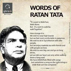 Words Of Ratan TATA ❤️