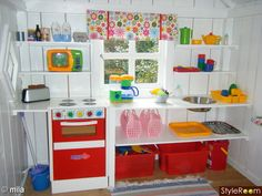 One of one of the most fulfilling and simplest weekend jobs it is possible to do to stimulate your child's creativity would be to develop an outside playhouse. Playhouse Decor, Playhouse Interior, Outside Playhouse, Girls Playhouse, Backyard Playhouse, Build A Playhouse, Wooden Playhouse, Playhouse Ideas, Cubby Houses