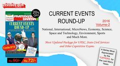 Pratiyogita Darpan Current Events Round-UP Magazine with most updated package for UPSC, State Civil Services and Other Competitive Exams.