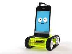 """The """"robot"""" age has started...meet Romo, the iPhone robot"""