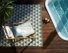 Pappelina - Des tapis en plastique tissés. Modèle Dana pale turquoise / warm grey. Célébrons le retour des beaux jours avec notre sélection outdoor   Modern Living Blog