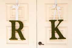Moss Covered 18 inch WEDDING Church Door by SpottedLeopard on Etsy, $135.00