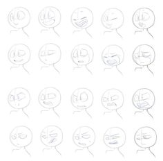 Learn To Draw Manga - Drawing On Demand Drawing Base, Manga Drawing, Drawing Reference Poses, Drawing Tips, Drawing Ideas, Cartoon Drawings, Cartoon Art, Expression Sheet, Drawing Expressions