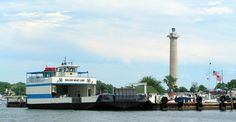 Miller Ferry at the Miller downtown dock, Put-in-Bay, Ohio #travel