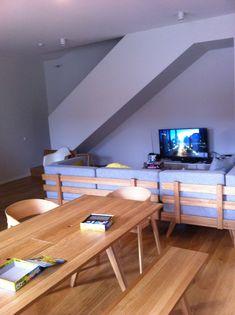 Lofty atmosphere with the Hansen Family furniture, designed by Gesa Hansen