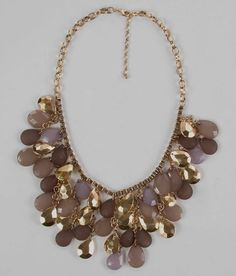 Statement Necklace - Buckle - $16