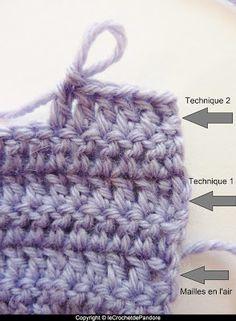tuto le point marguerite tricot et crochet pinterest points de couture photos et crochet. Black Bedroom Furniture Sets. Home Design Ideas