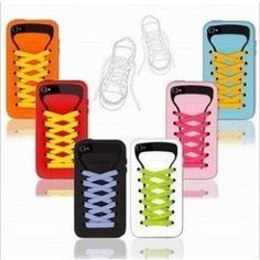 Cute iShoe Shape Series Soft Silicone Case Cover for Apple iPhone 4 4S