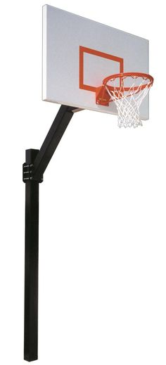 First Team Legend Jr Endura In Ground Fixed Height Outdoor Basketball Hoop 60 inch Aluminum from NJ Swingsets