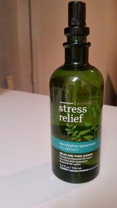 Aromatherapy Stress relief pillow mist