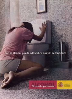 Con el alcohol puedes descubrir nuevas sensaciones. A Level Spanish, International Baccalaureate, Health Unit, Teaching Spanish, Spanish Quotes, Oral Health, The Unit, Free Time, Sport