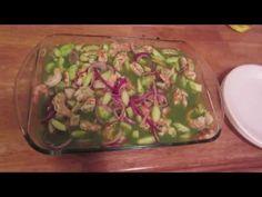 Aguachiles Shrimp Ceviche