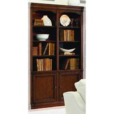 Hooker Furniture Cherry Creek Wall Bookcase - Brown - 258-70-448