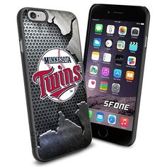 Minnesota Twins MLB Iron Logo WADE6009 Baseball iPhone 6 4.7 inch Case Protection Black Rubber Cover Protector WADE CASE http://www.amazon.com/dp/B013Y7KMUI/ref=cm_sw_r_pi_dp_KbWBwb1XYH1YD