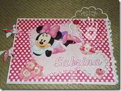 Livro de Assinaturas Minnie Rosa