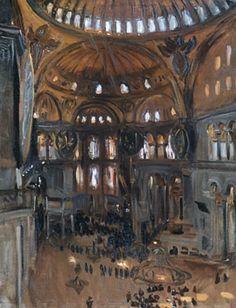 John Singer Sargent's Santa Sofia