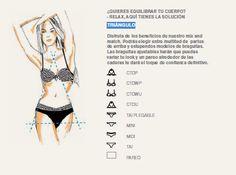 Cuerpo triangulo?????? Este sería tu estilismo ideal en bikini