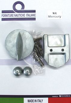 Kit anodos Aluminio para Mercruiser Alpha one generation I