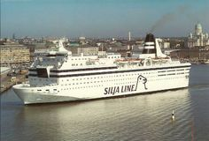 Silja Line, Helsinki, Finland Makes me think of the plastic duffel bags filled with lollies