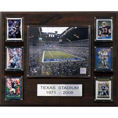 C Collectables NFL 16x20 Texas Stadium Stadium Plaque