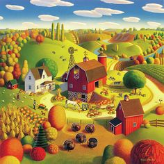 Harvest Bounty, Robin Moline