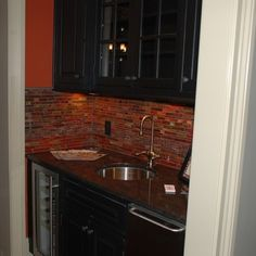 Rustic Wet Bar Ideas