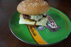homemade~~ burger