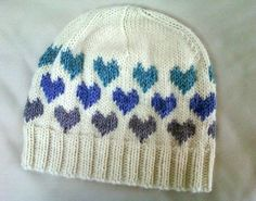This hat was my first attempt at fair isle knitting, and it was cool. I got the pattern from Pickles but decided to modify the patter to m...