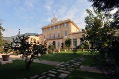 Villa Scorzi - view from the garden