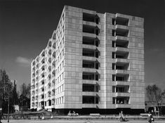 Hansaviertel Apartment House, Berlin Germany (1955-57) | Alvar Aalto #alvaraalto