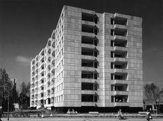 Hansaviertel Apartment House, Berlin Germany (1955-57) | Alvar Aalto